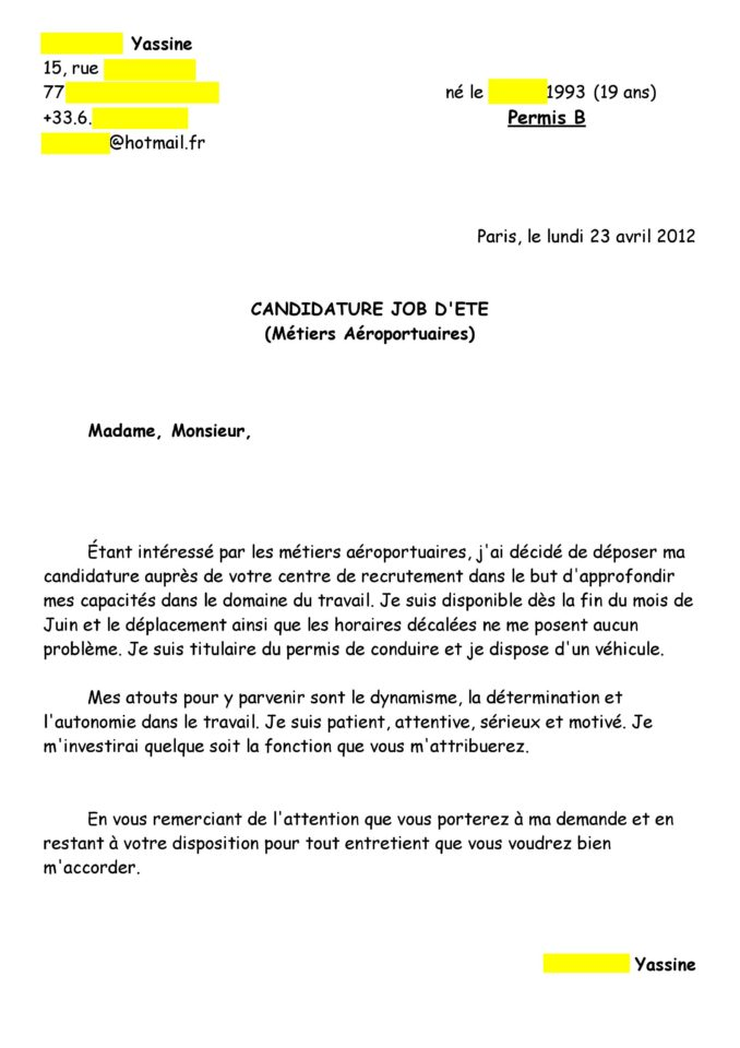 lettre motivation dts imrt alternance entre stages